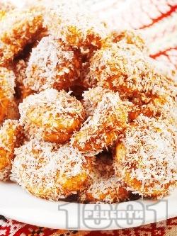 Лесни меденки с канела, орехи, шоколад и кокосови стърготини - снимка на рецептата